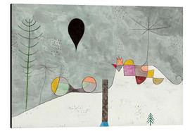 Alumiinitaulu  Winter picture - Paul Klee