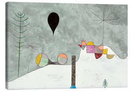 Canvas-taulu  Winter picture - Paul Klee