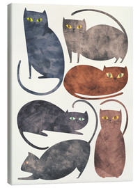 Canvas-taulu  Cats - Tracie Andrews