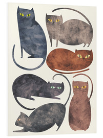 PVC-taulu  Cats - Tracie Andrews