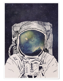 Juliste  Dreaming of Space - Tracie Andrews