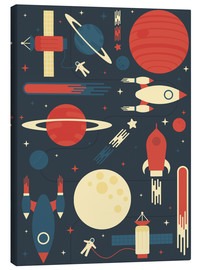 Canvas-taulu  Space Odyssey - Tracie Andrews