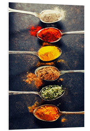 PVC-taulu  Spices Mix