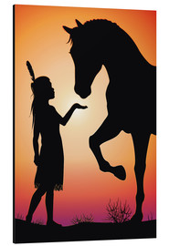 Alumiinitaulu  Horse whisperer - Kidz Collection