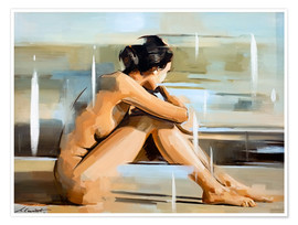Juliste  In thought - Johnny Morant
