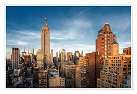 Juliste Empire State Building New York