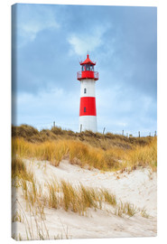 Canvas-taulu  Lighthouse in the east of the peninsula, Ellenbogen