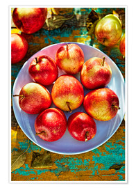 Juliste Autumn apples