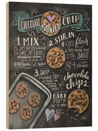 Puutaulu  Chocolate chip cookies recipe. - Lily & Val