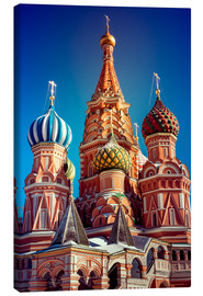 Canvas-taulu  St. Basil's Cathedral, Russia