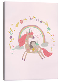 Canvas-taulu  Girl from fairytale - Kidz Collection