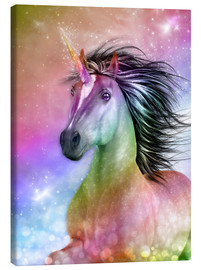 Canvas-taulu  Unicorn - Be Authentic - Dolphins DreamDesign