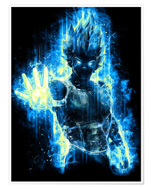 Juliste God Prince of Saiyans