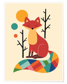Juliste  Rainbow Fox - Andy Westface
