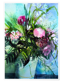 Juliste Bouquet with peony