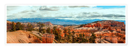 Juliste Bryce Canyon Panorama