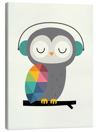Canvas-taulu  Owl time - Andy Westface