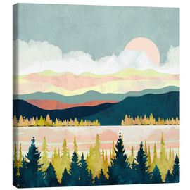 Canvas-taulu  Lake Forest - SpaceFrog Designs