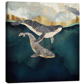 Canvas-taulu  Mother and child II - SpaceFrog Designs