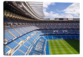 Canvas-taulu  Stadium in Madrid