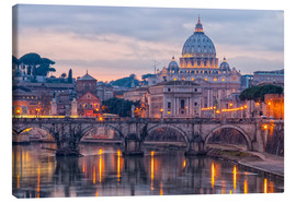Canvas-taulu  The Basilica of the Vatican of St. Peter