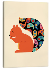 Canvas-taulu  Paisley Squirrel - Andy Westface