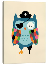 Canvas-taulu  Captain Whooo - Andy Westface