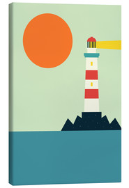 Canvas-taulu  Light House - Andy Westface