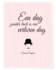 Juliste A day without laughter - Dutch