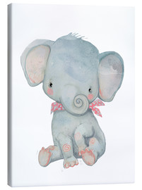 Canvas-taulu  My little elephant - Kidz Collection