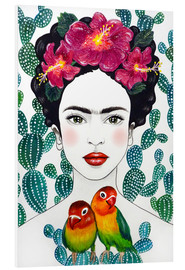 PVC-taulu  Frida's lovebirds - Mandy Reinmuth