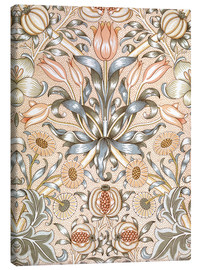 Canvas-taulu  Lily and Pomegranate - William Morris