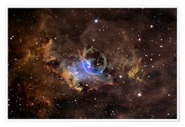 Juliste Bubble nebula