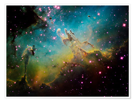 Juliste The Eagle Nebula