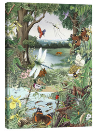 Canvas-taulu  Enchanted forest