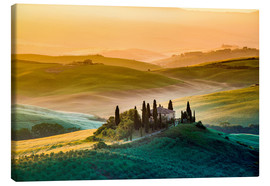 Canvas-taulu  Val d'Orcia, Tuscany, Italy - age fotostock