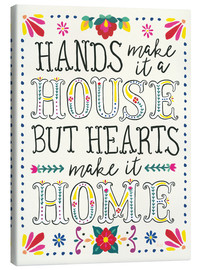 Canvas-taulu  Our home - Laura Marshall