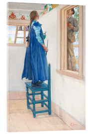 Akryylilasitaulu  Suzanne and another - Carl Larsson