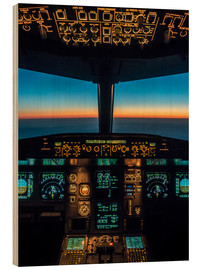 Puutaulu  A320 cockpit at twilight - Ulrich Beinert