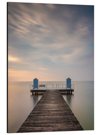 Alumiinitaulu  Jetty on the Baltic Sea (1) - Heiko Mundel