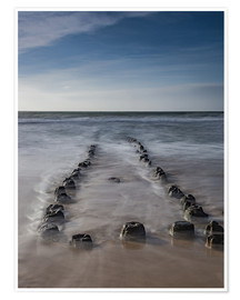 Juliste  Groyne on Sylt (long exposure) - Heiko Mundel