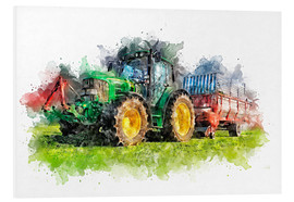 PVC-taulu  tractor - Peter Roder