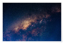 Juliste The core of the Milky Way