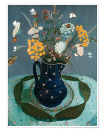 Juliste  Flower bouquet - Paula Modersohn-Becker